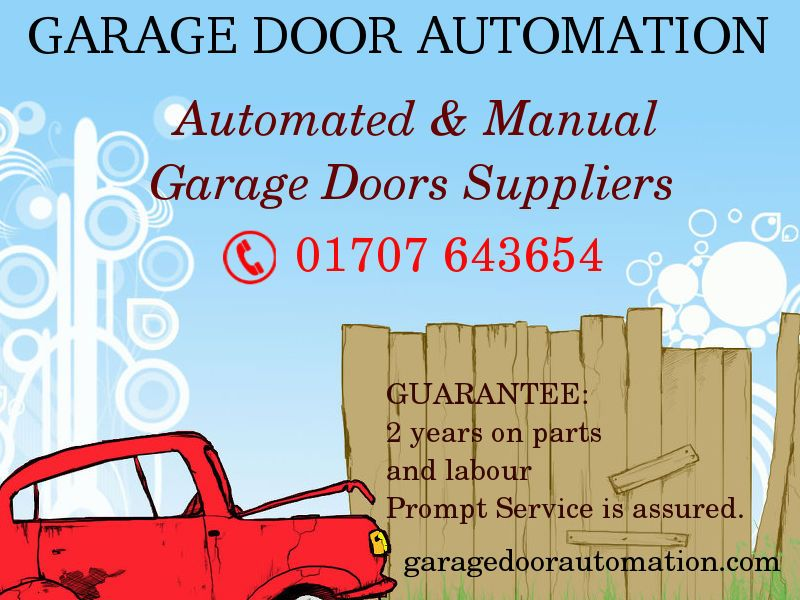 Welcome to Garador Door Automation, manufacturer of the UK's finest Garage Doors and accessories providing you with 2 years on parts and labour Prompt Service is assured. Order for the best doors which fits your car with more comfort @ http://www.garagedoorautomation.com
