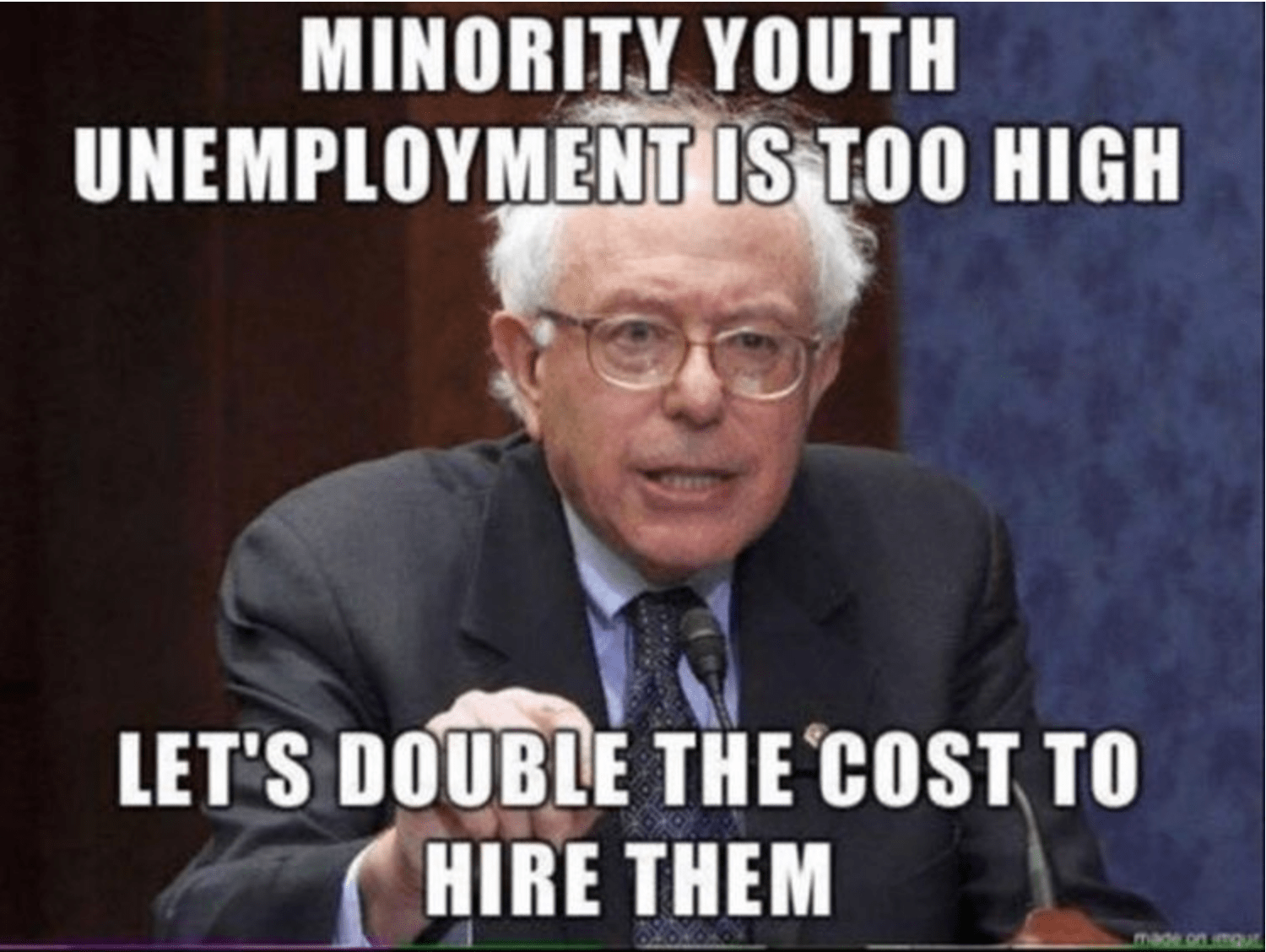 Senator Bernie Sanders Memes And Images Thefunnyconservative Png 1500x1128 Political Funny Socialist Liberal Birthday Meme