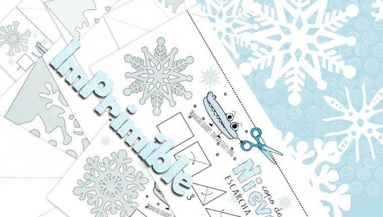 plantillas de copos de nieve | Navidad | Pinterest