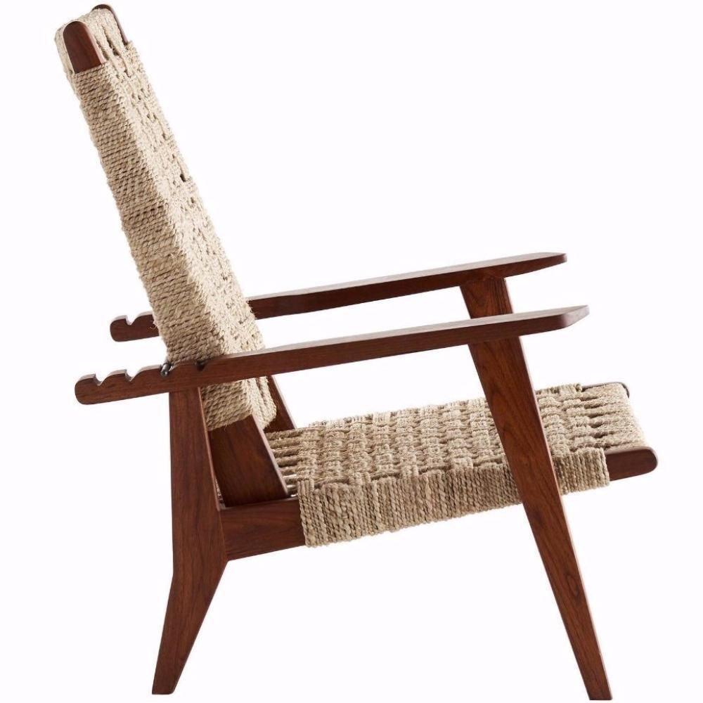 Brilliant Woven Jute Reclining Chair Products Chair Recliner Jute Evergreenethics Interior Chair Design Evergreenethicsorg