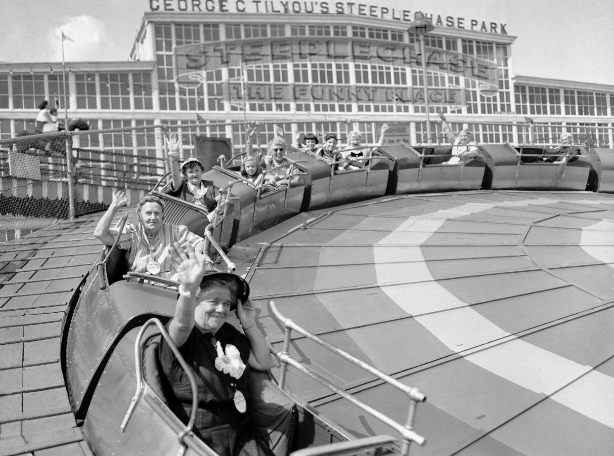 Greetings From Coney Island Brooklyn Coney Island Steeplechase