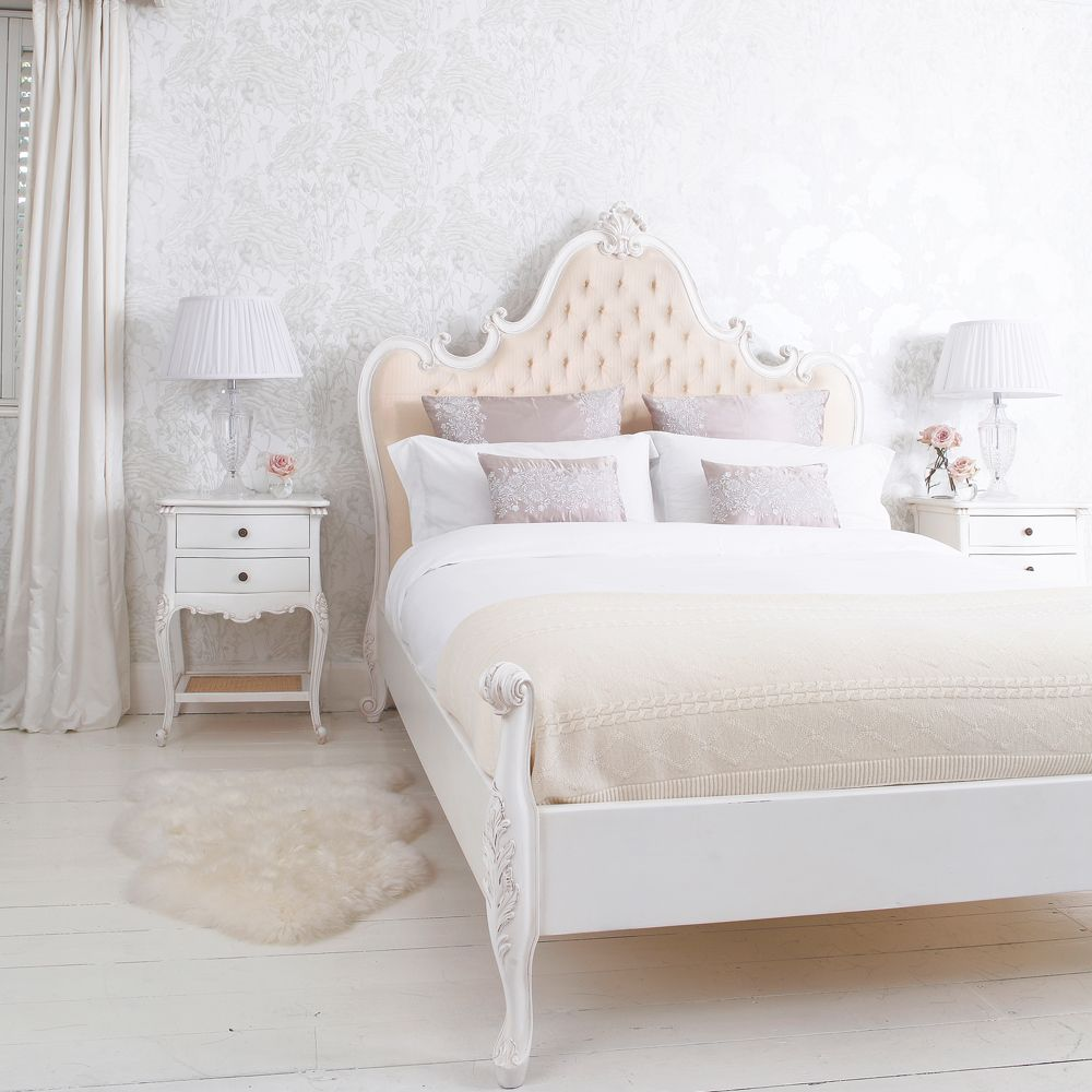 Best Provencal Grande Upholstered Luxury Bed French Beds 400 x 300