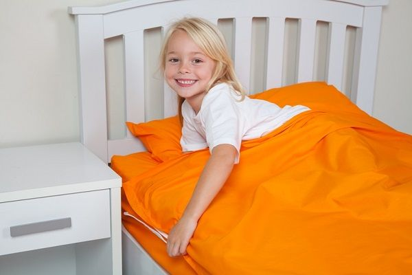 Orange Kids Zip Sheets Available In Single And King Sizes