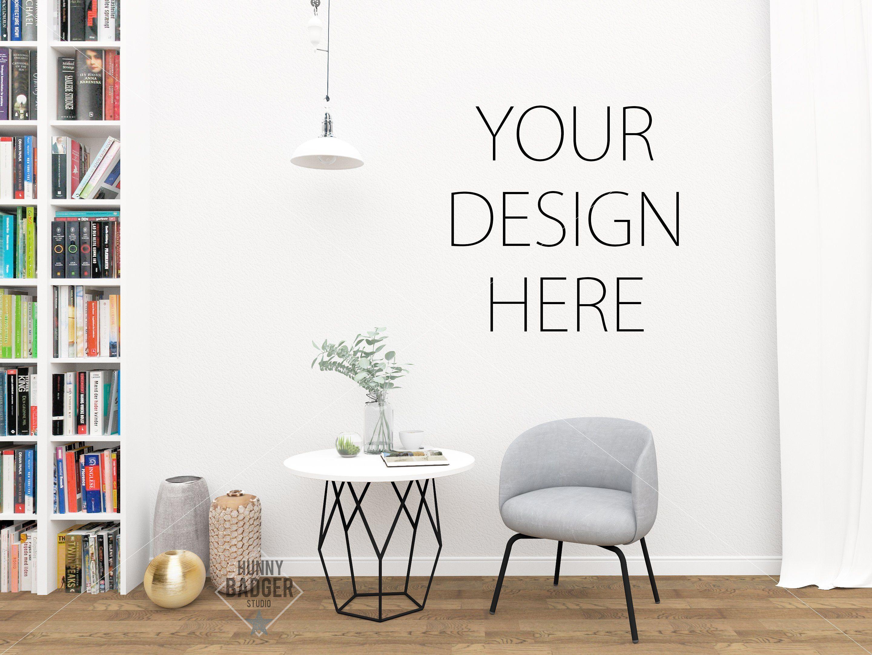 Poster mockup wall mockup Product Mockups Poster mockup