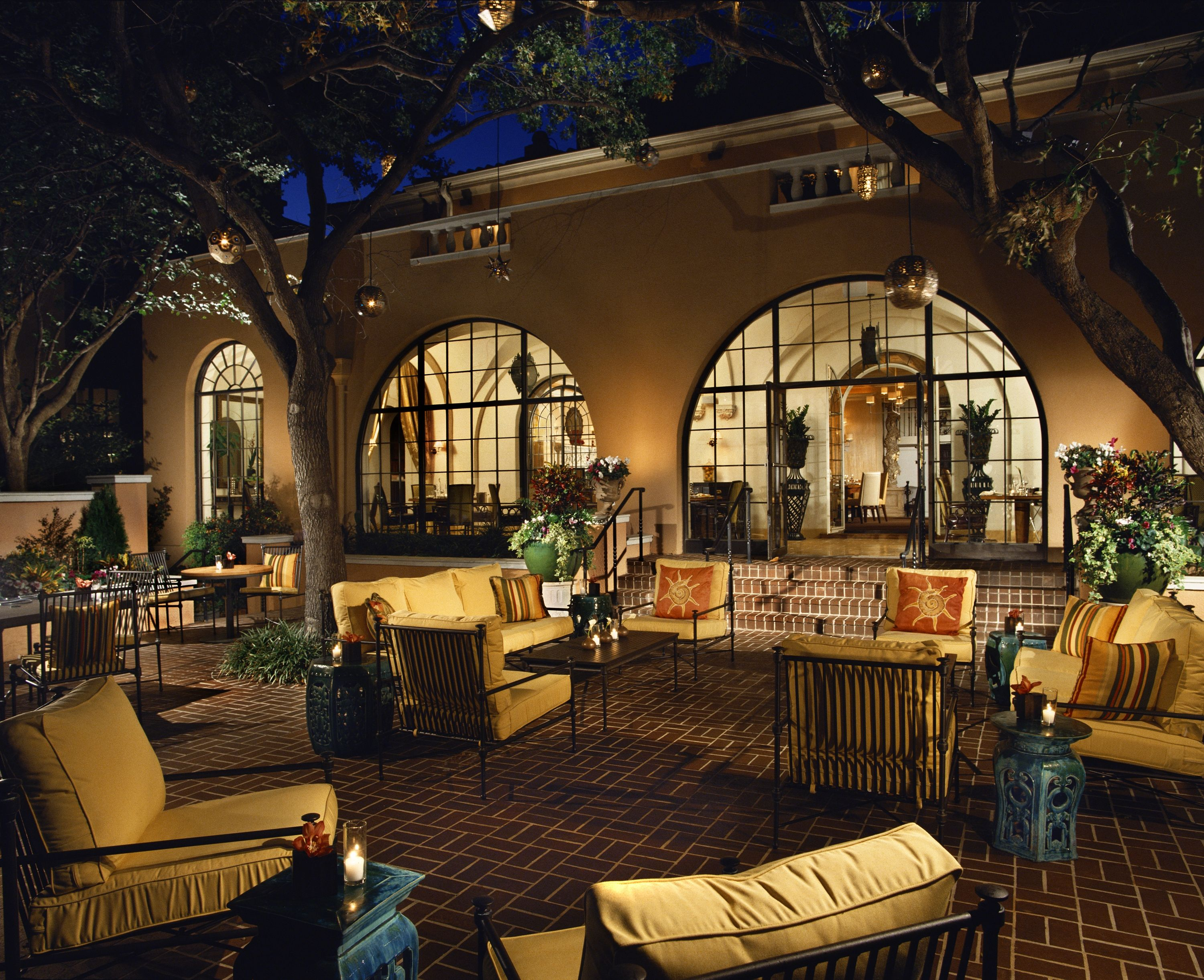 mansion restaurant patio Favorite Places & Spaces