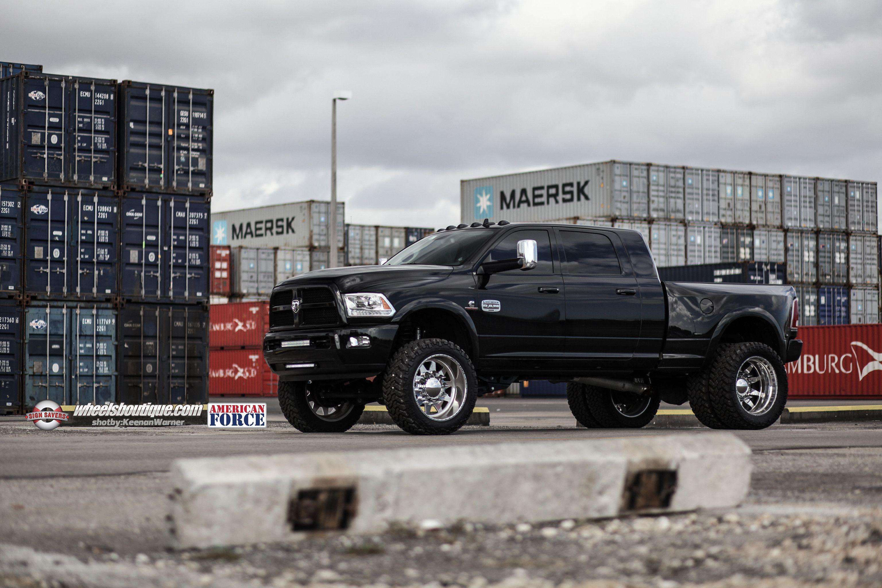 Thesignsavers Ram 3500 On American Force Wheels Diesel Trucks Pickup Trucks American Force Wheels