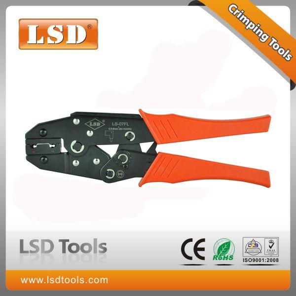 Ls 07fl Crimping Tool For 1 25 2 5mm2 Flag Terminals Crimping Tools Connectors Crimping Pliers Mini China Tools Tools Crimping Tools Bnc Connector