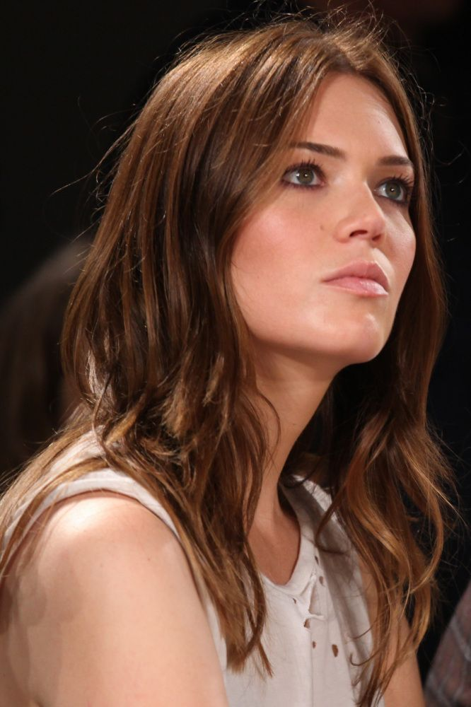 Mandy Moore Hair New Do Red Color Beauty Makeup