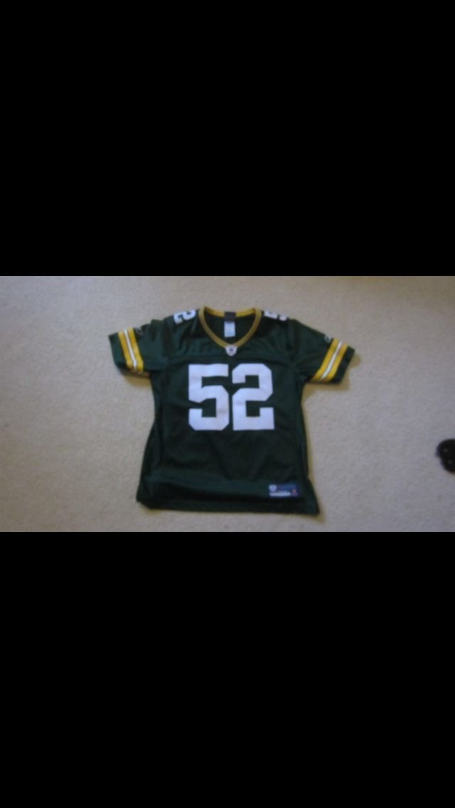 Green Bay Packers Clay Matthews Jersey Womens Small