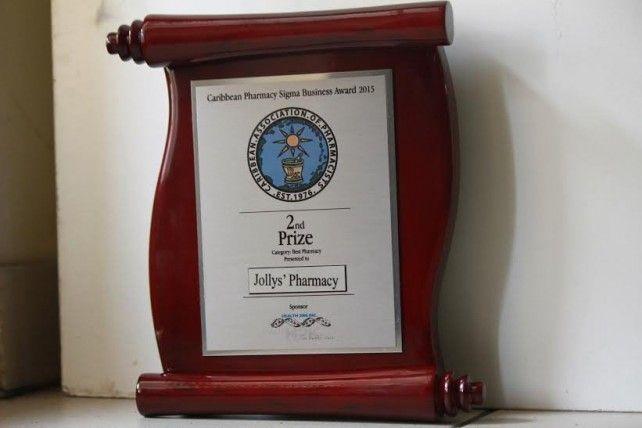 jolly's award