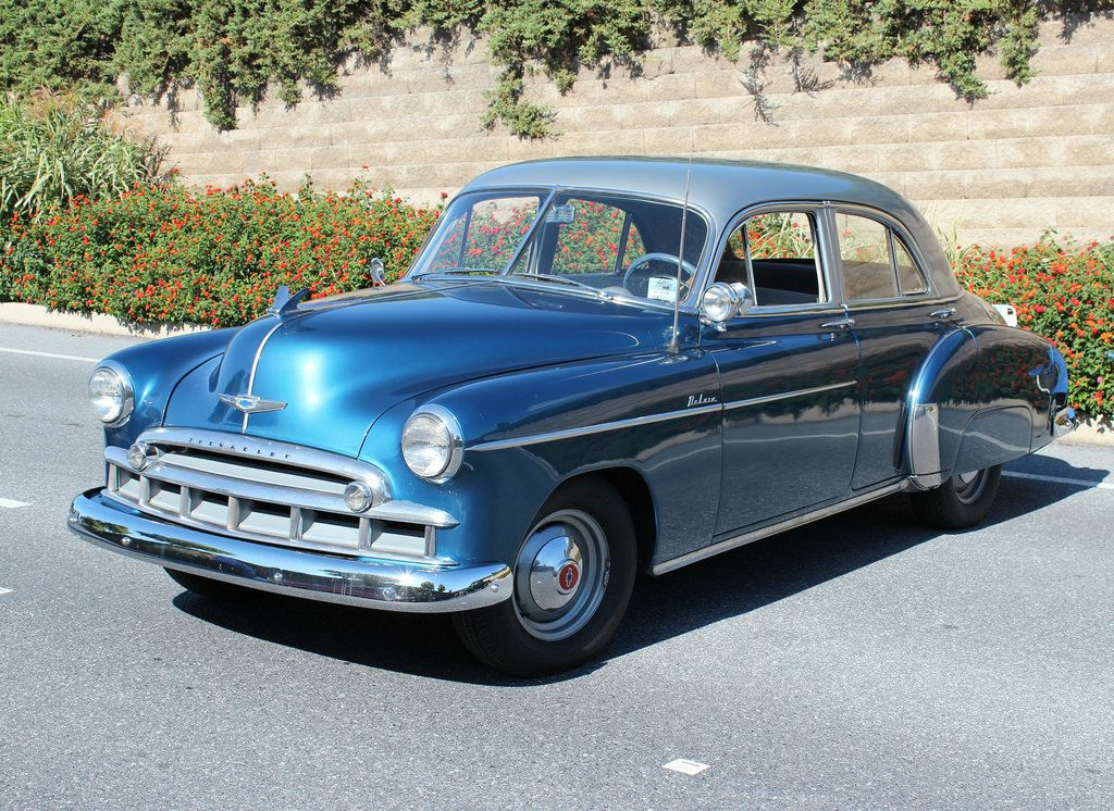 1949 Chevrolet Styleline Deluxe 4 Door Old Classic Cars Chevrolet American Classic Cars