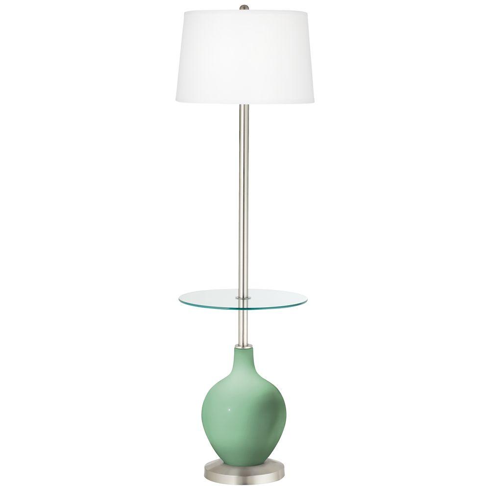 Hemlock Ovo Tray Table Floor Lamp 26a86 Lamps Plus Lamp Glass Floor Lamp Floor Lamp Table
