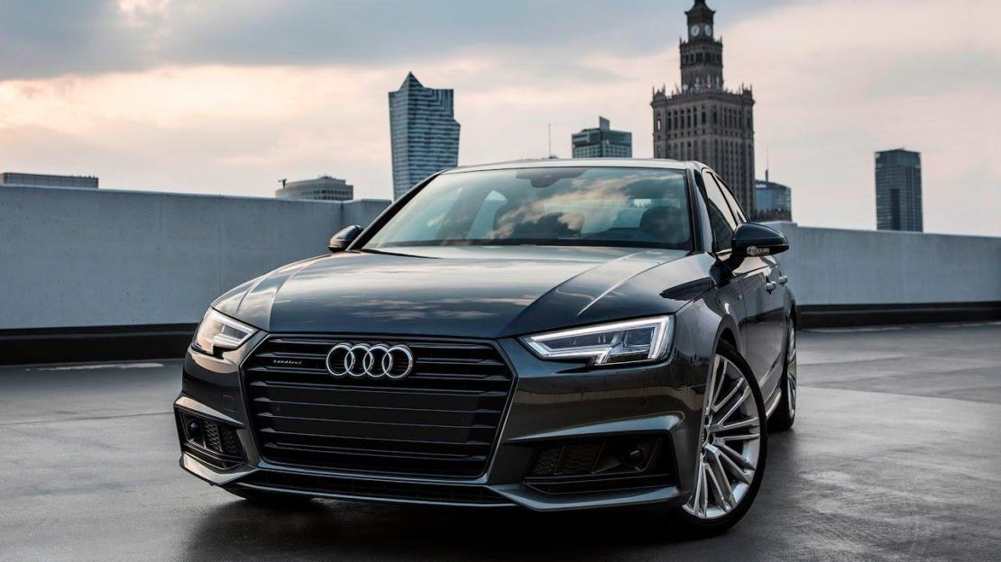 2017 18 Audi A4 B9 Sedan Black Optics Daytona Gray S