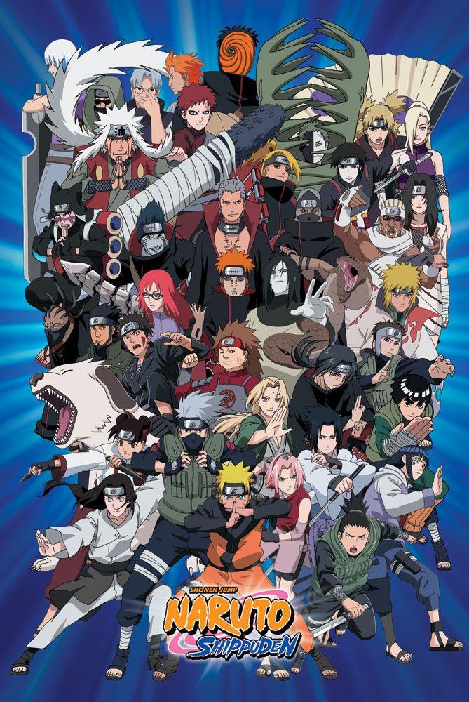 Naruto Shippuuden Charaktere