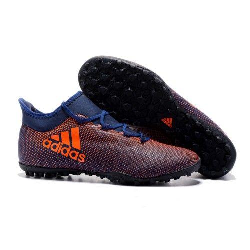 uk availability bfb0e ba0d6 2017 Adidas X 17.3 TF Botas De Futbol Negro Naranja