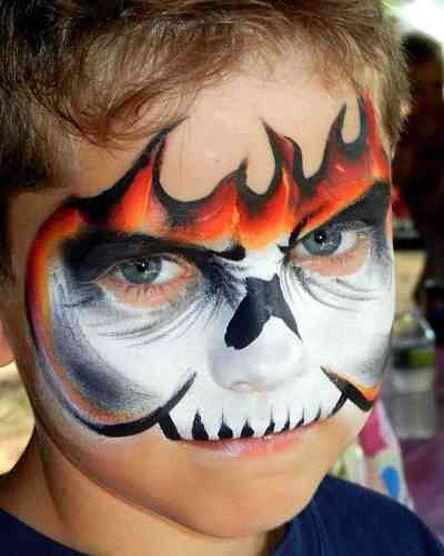 Connecticut S Premier Face Painting Face Painting Halloween Monster Face Painting Skull Face Paint