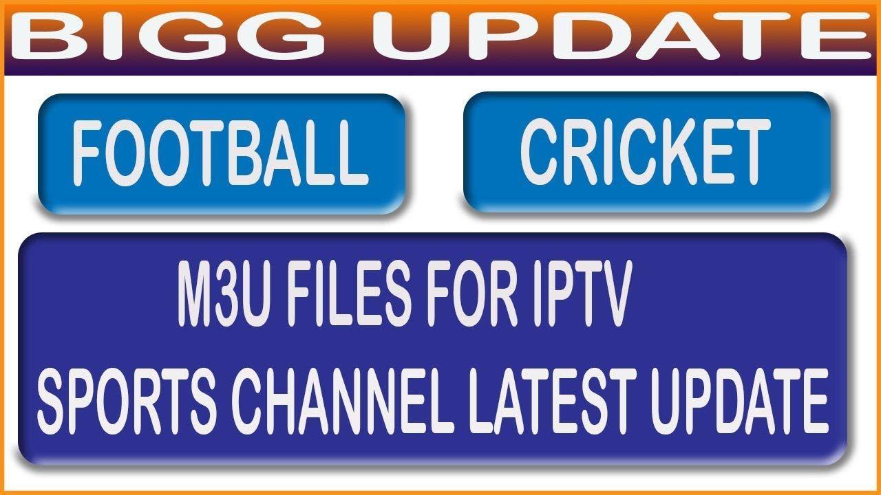 M3U FILES FOR IPTV SPORTS CHANNEL LATEST UPDATE dish tv