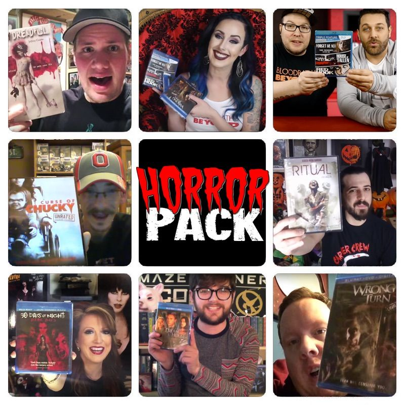 Check out our HorrorPack from April 2016!