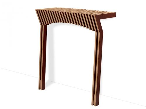 ARCHIPEDE Console table by Cutting-Edge for L\u0027EDITO   www