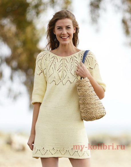 Платье сицами