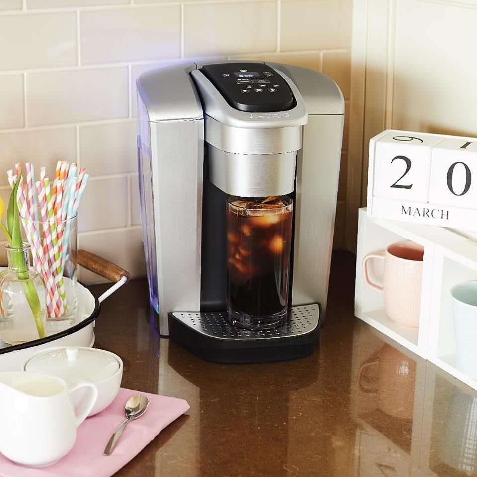 Elite® Single Serve Coffee Maker Keurig, Single serve