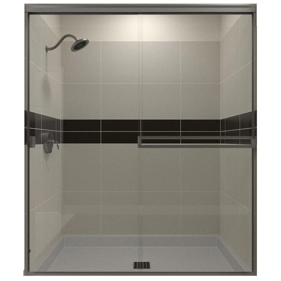 Arizona Shower Door Traditional 67 375 In H X 47 In To 49 In W