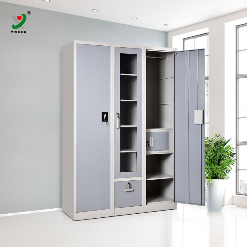 Magnificent New Arrival 3 Door Indian Bedroom Godrej Steel Almirah Wardrobe Inspirational Interior Design Netriciaus