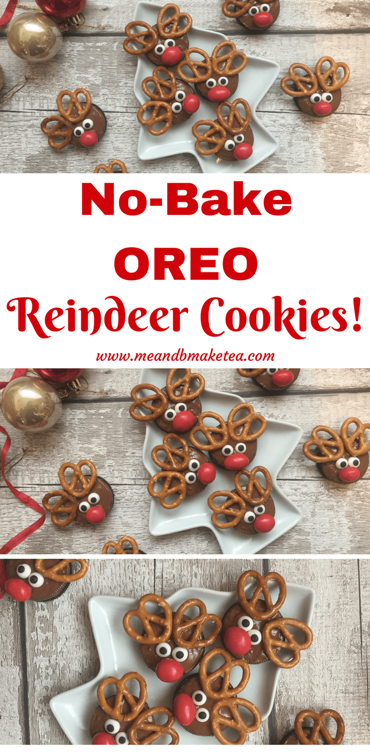 How to Make NoBake Reindeer Oreo Cookies for Christmas