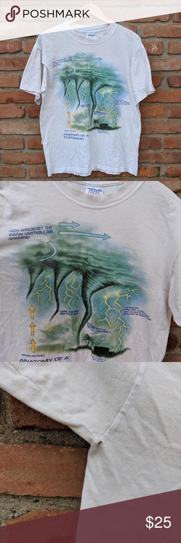 Vintage Anatomy Of A Tornadohurricane T Shirt In 2018 My Posh