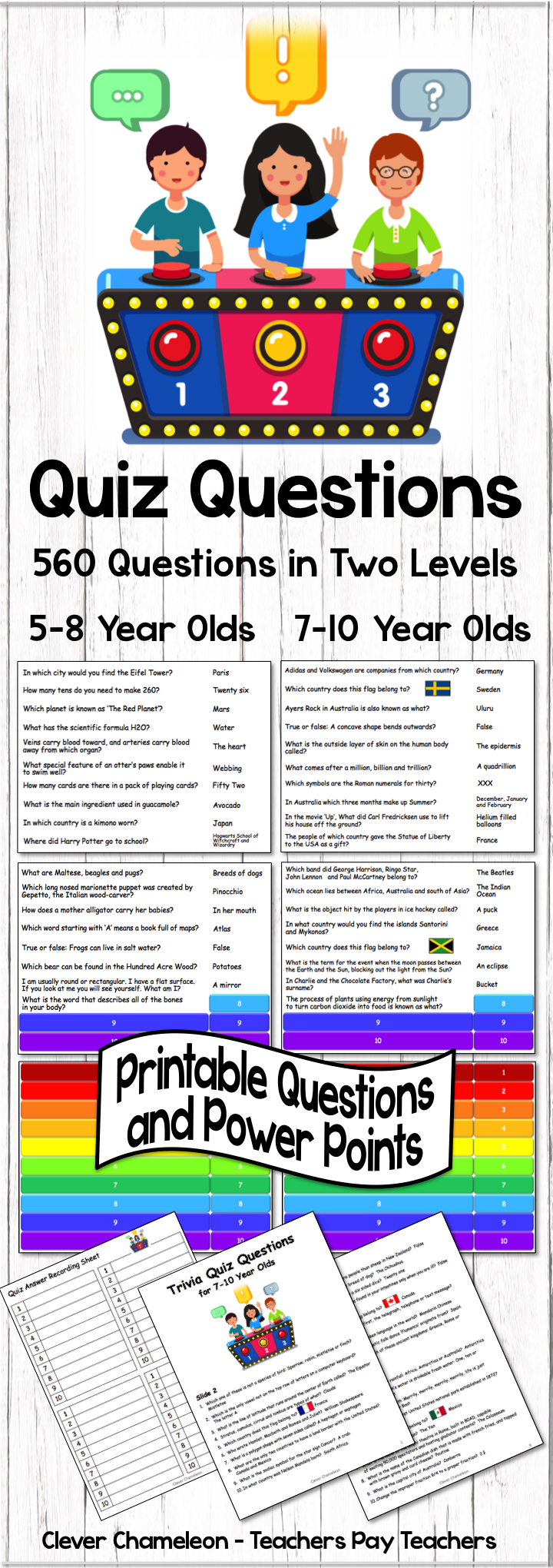 Quiz Questions | Kids quiz questions, This or that ...