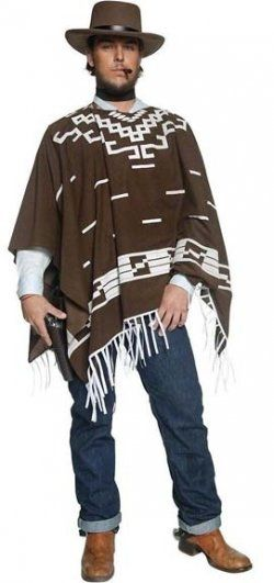 Get Clint Eastwood Costumes For Him Fancy Dress Costumes Cowboy Halloween Costume Cowboy Costume