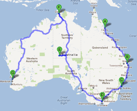 Road Map Australia.Best Routes Drive Across Australia Australia Highway Map Australia