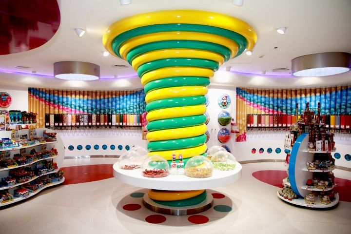 Candylawa Candy Store By Red Design Group Riyadh Saudi Arabia