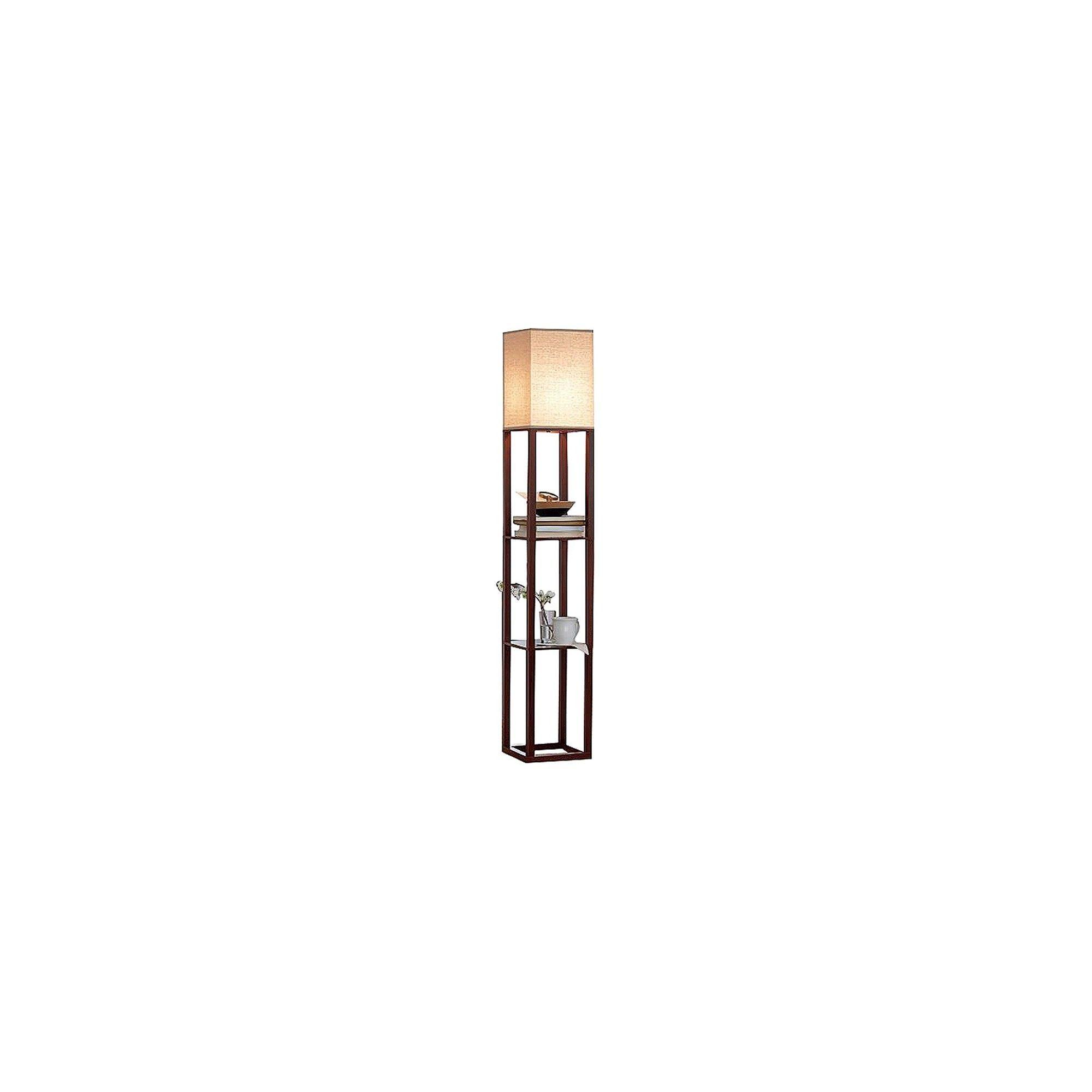 Shelf Floor Lamp Brown Threshold™ Energy efficient