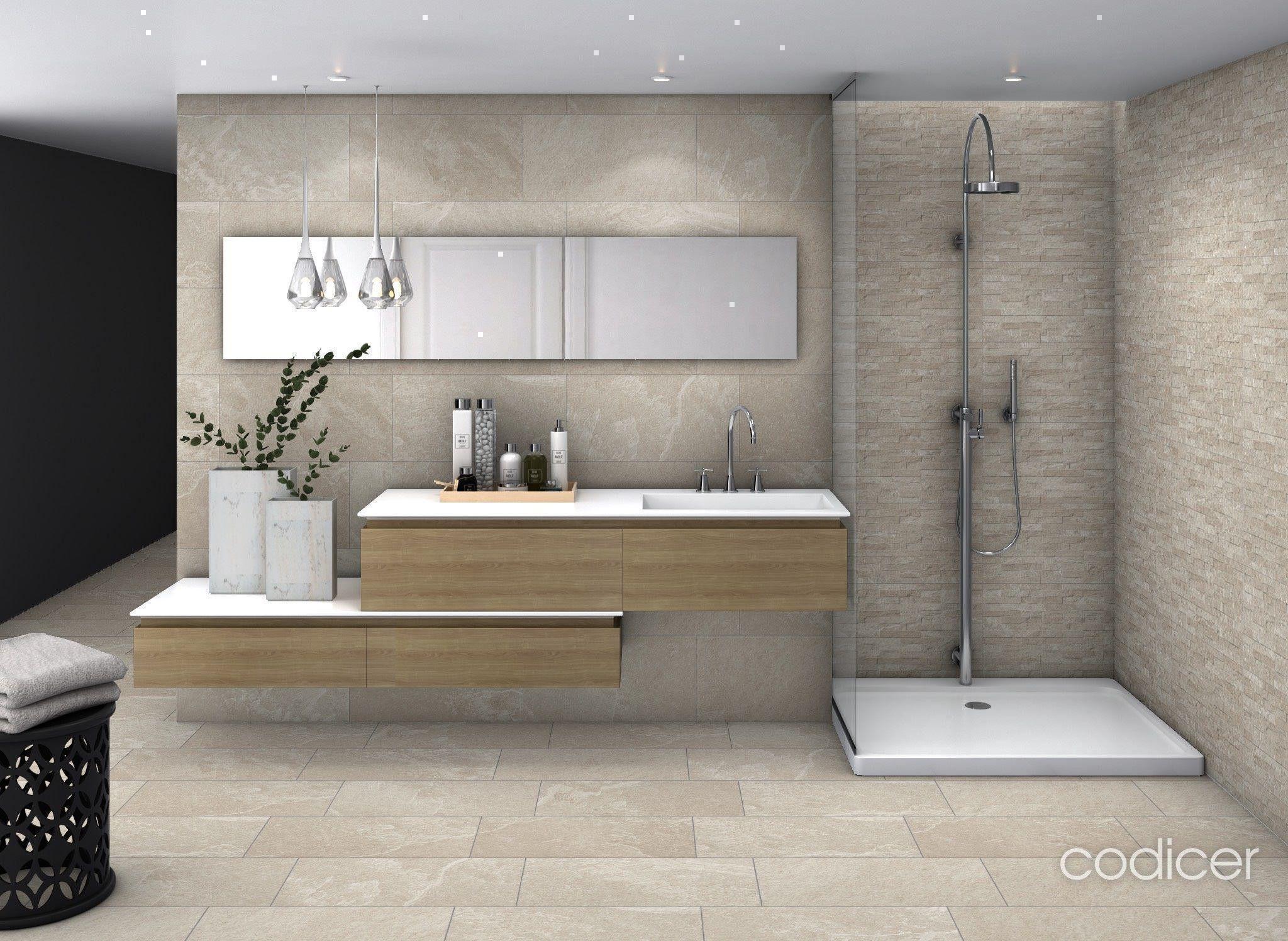 Imagen sobre Baño minimalista de Ceramhome en Baños ...
