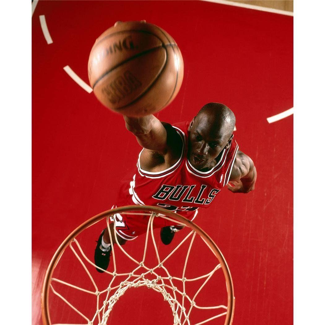 Michael Jordan Poster On Silk <60cm x 74cm, 24inch x 30inch> - Soie ...