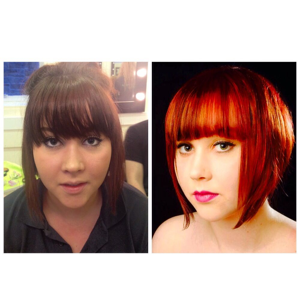 Photoshoot! #hair #bob #hairdressing #wella