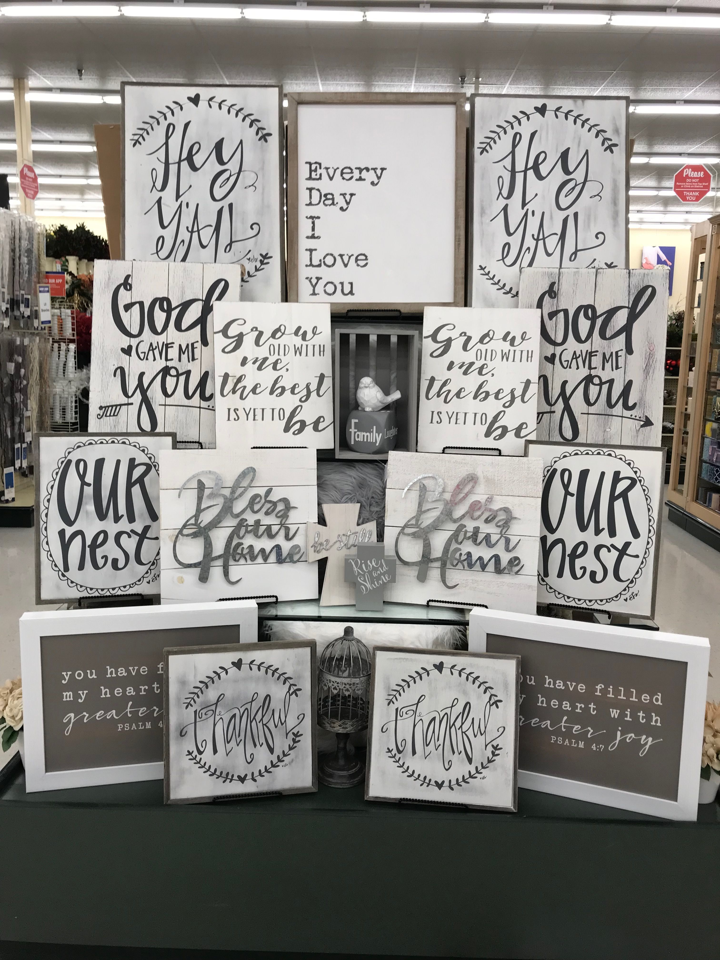Love these!!! (With images) Hobby lobby decor