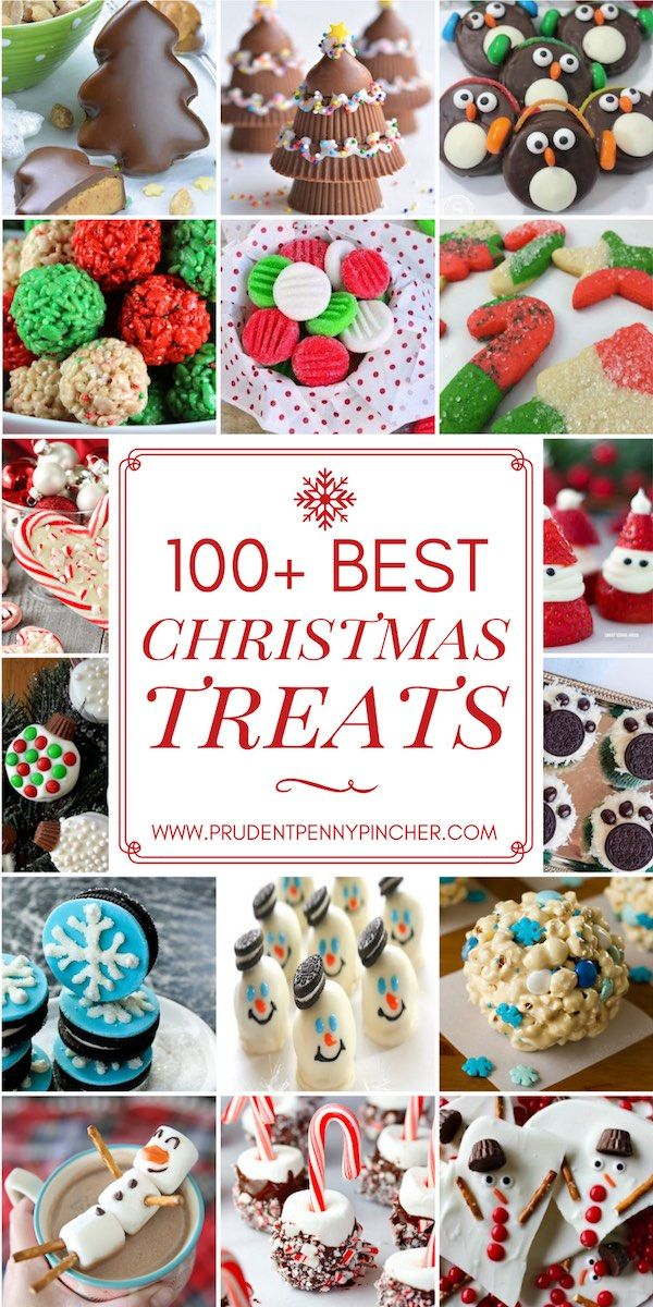 100 Best Christmas Treats #holidaytreats