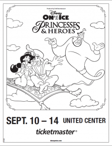 Disney On Ice Princesses Heroes Comes To Chicago Disney On Ice Disney Princess Colors Princess Coloring