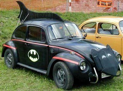 Batman Fan Makes Homemade Batmobile Car 1940 S Golden Age Comic