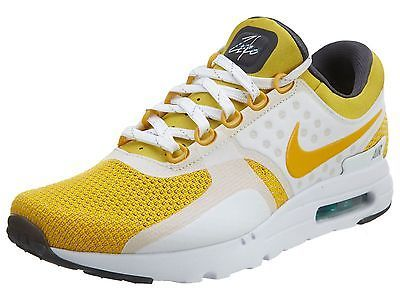 detailed look f07b3 25219 Nike Air Max Zero QS Tinker Sketch Mens 789695-100 Yellow Running Shoes  Size 9.5