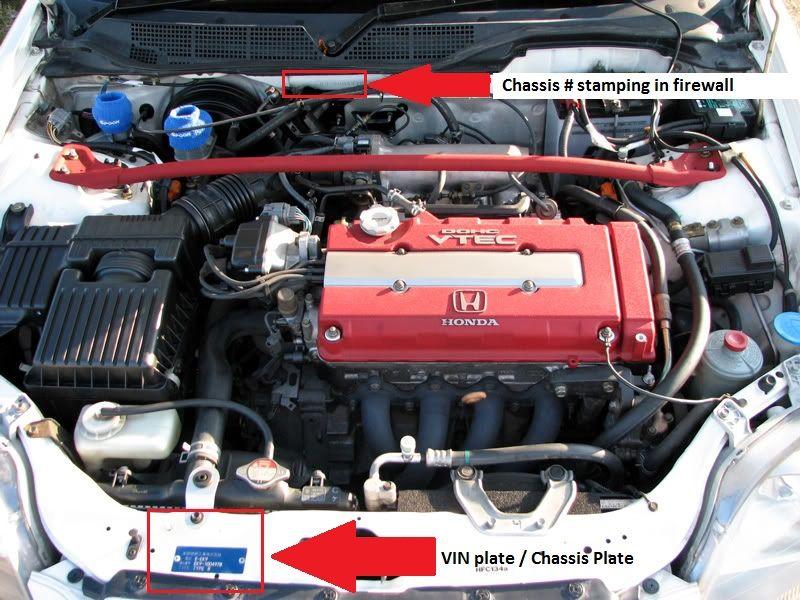 Honda Civic Type R 2000 Engine