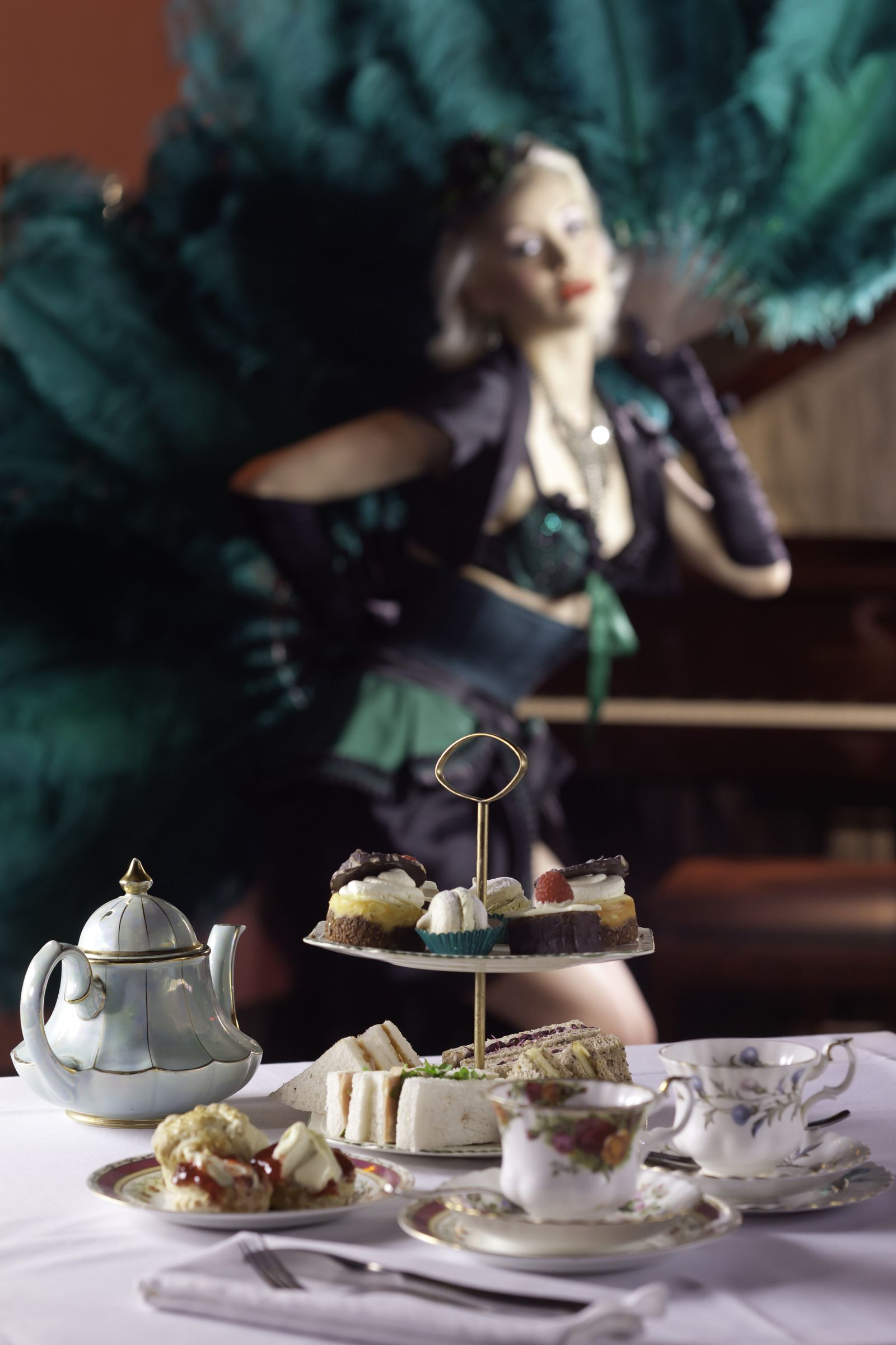 Volupte burlesque Afternoon Tea