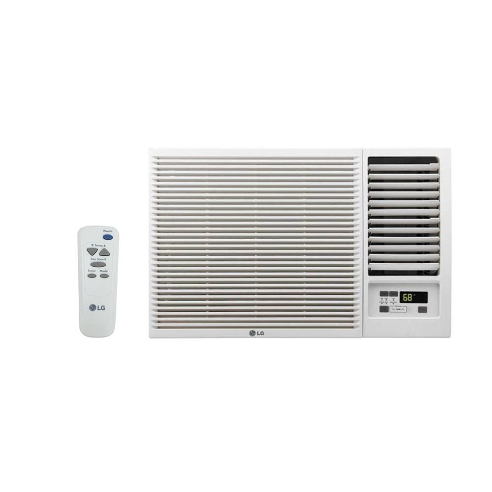 Lg Electronics 7 500 Btu 115 Volt Window Air Conditioner With Cool