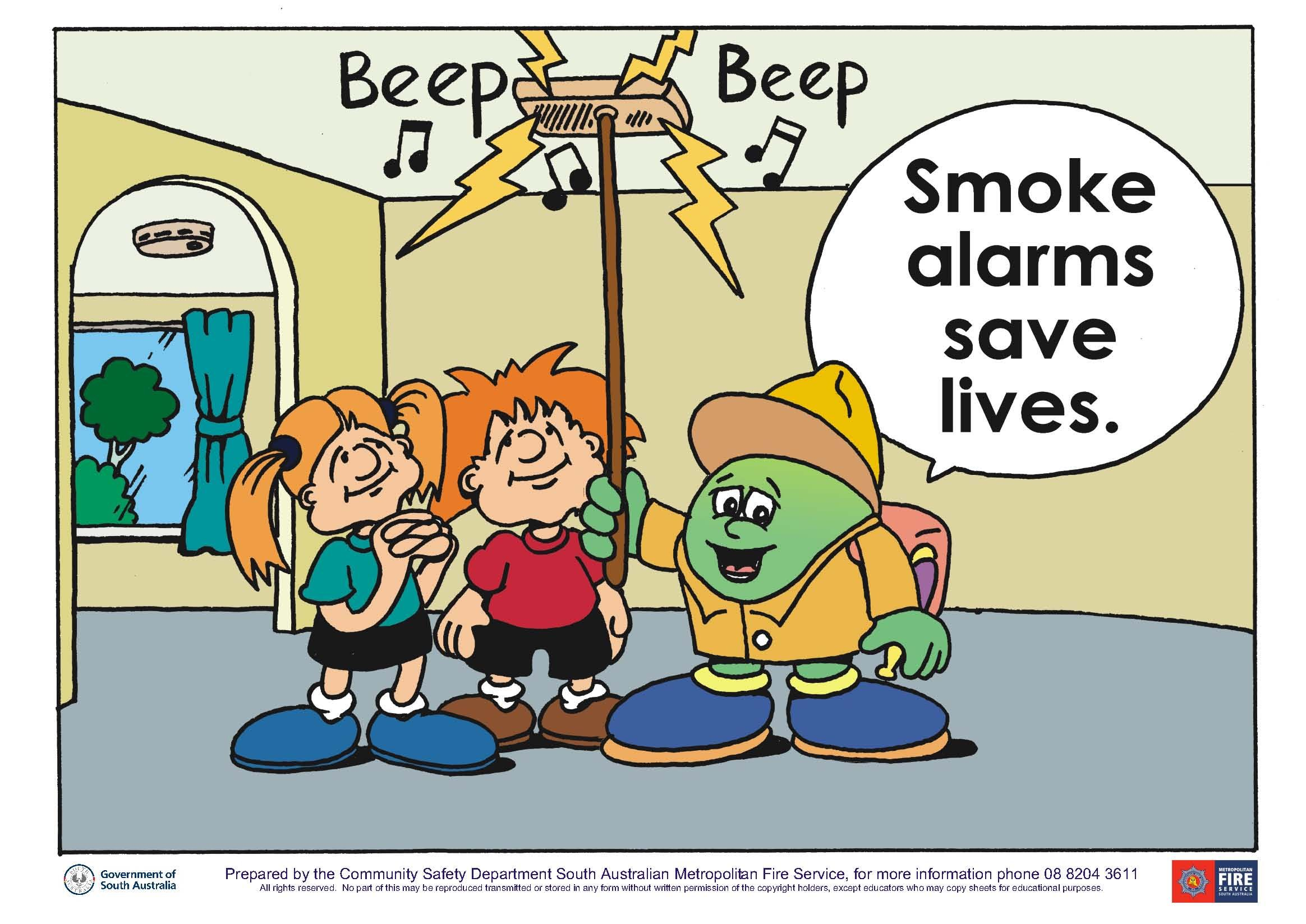 Change The Batteries In Your Smoke Alarms