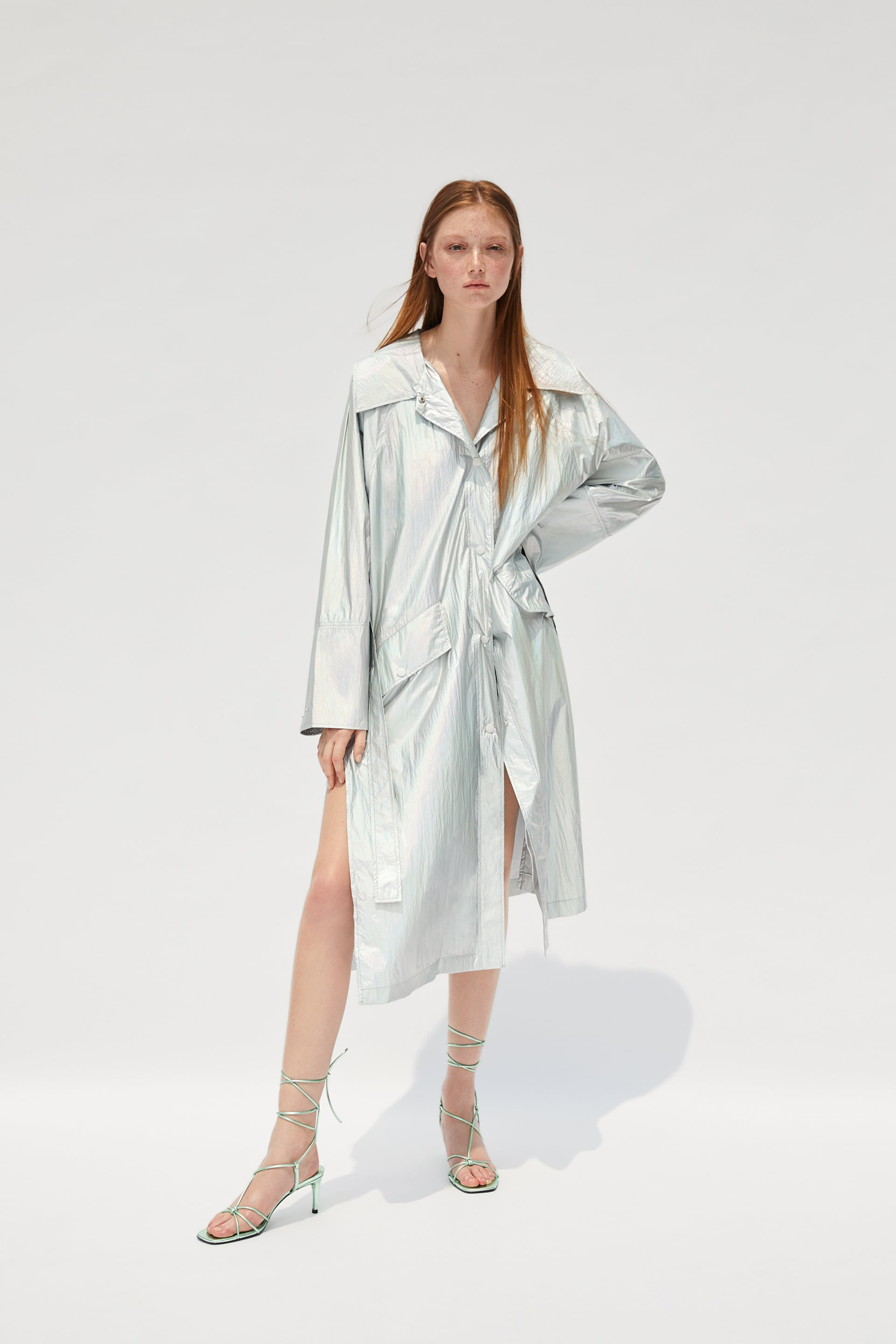 Limited edition metallic trench coat | My Style in 2019