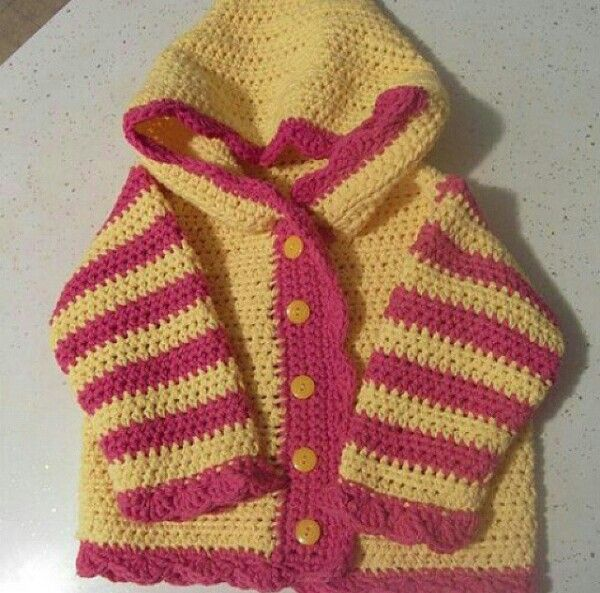 bd7a75dd9 Ravelry  Sweet Baby Hoodie pattern by Bernat Design Studio
