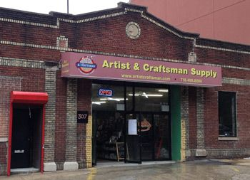 Artist And Craftsman Supply 2nd Street Off 5th Avenue Park Slope