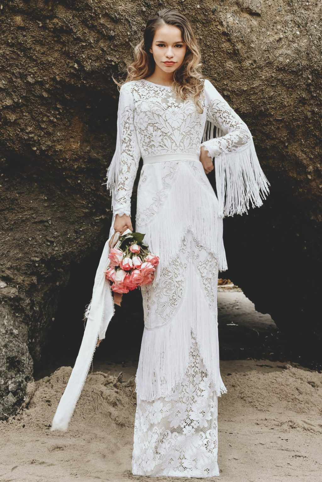 30 Effortlessly Beautiful Boho Wedding Dresses One Fab Day In 2020 Boho Wedding Dress Dresses Boho Gown,Cute Cheap Wedding Dresses